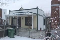 Une maison shoebox centenaire risque la démolition à Ahuntsic