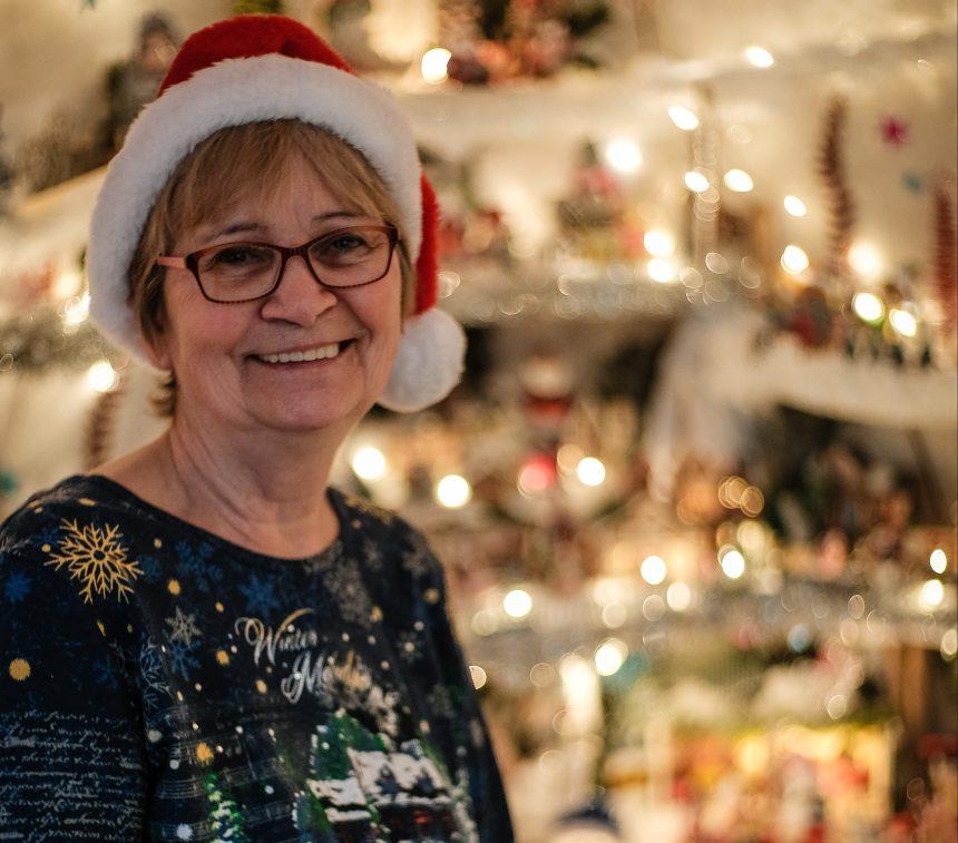 Un village de Noël miniature grandiose à Lachine