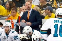 Les Sharks de San Jose ont limogé leur entraîneur-chef Peter DeBoer