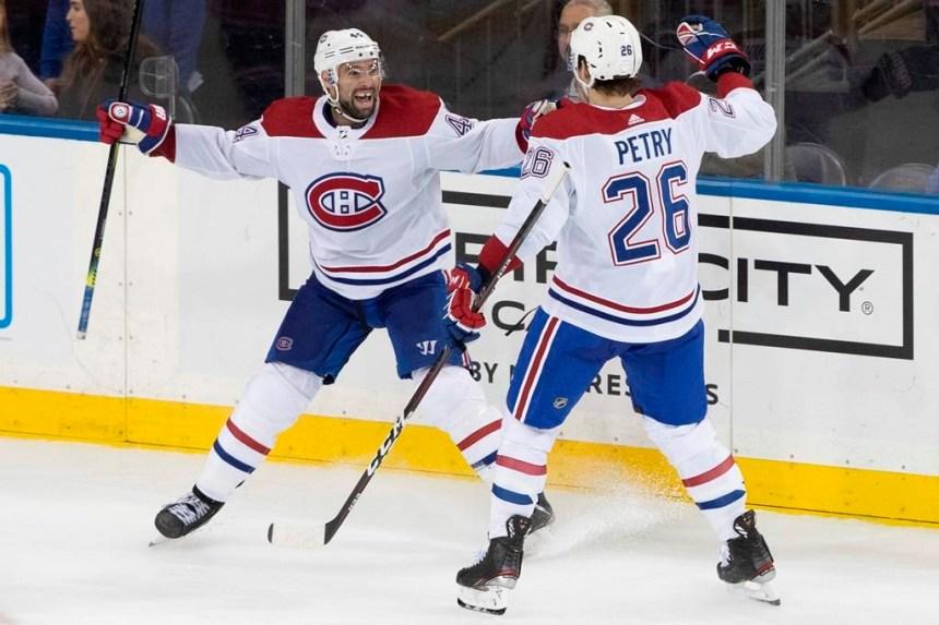 Thompson marque en fin de match et le Canadien soutire un gain de 2-1