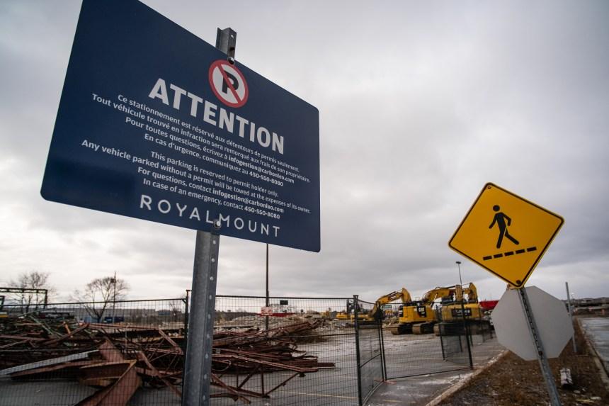 Nouvelle action citoyenne contre le projet Royalmount lundi