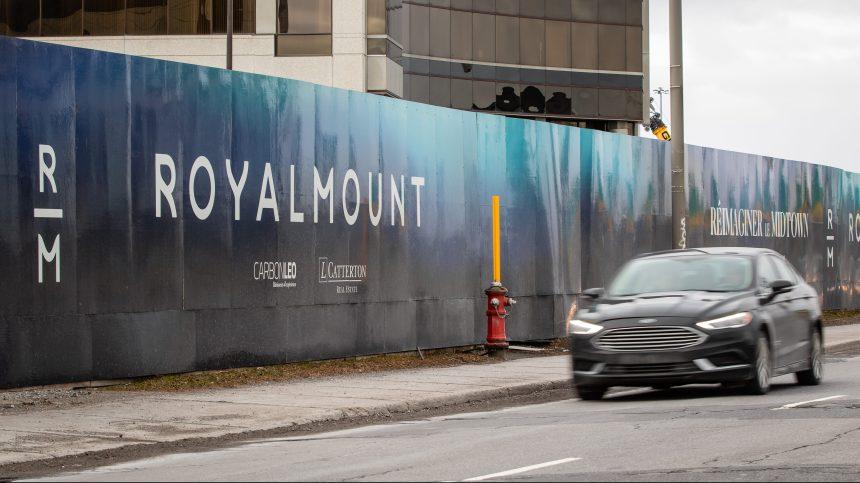 Dernier cri du coeur de citoyens pour freiner Royalmount