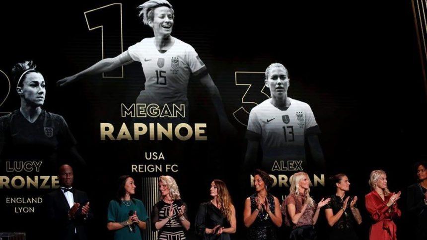 Lionel Messi gagne un 6e Ballon d'or; Megan Rapinoe l'emporte chez les dames