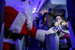 Un vol féerique pour les enfants malades à Montréal-Trudeau