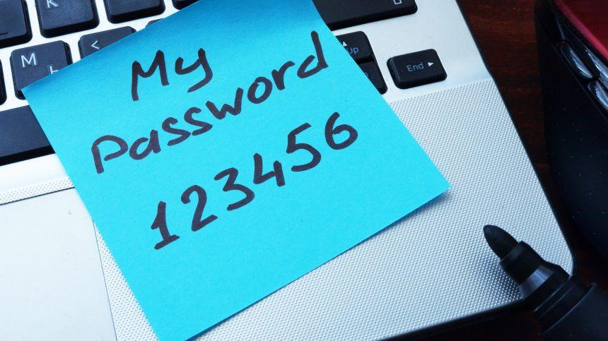 Le pire mot de passe au monde est toujours «123456»