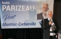 André Parizeau investiture du Bloc québécois