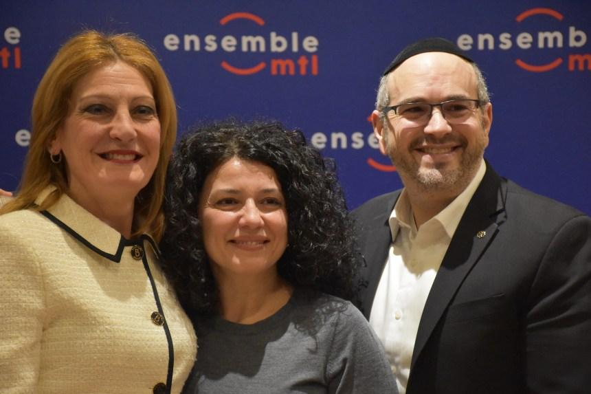 Ensemble Montréal présente sa candidate pour Saint-Léonard
