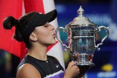 Andreescu est un choix quasi unanime au titre d'athlète féminine de l'année