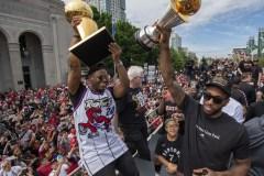 Les Raptors de Toronto remportent le titre d'équipe de l'année au pays