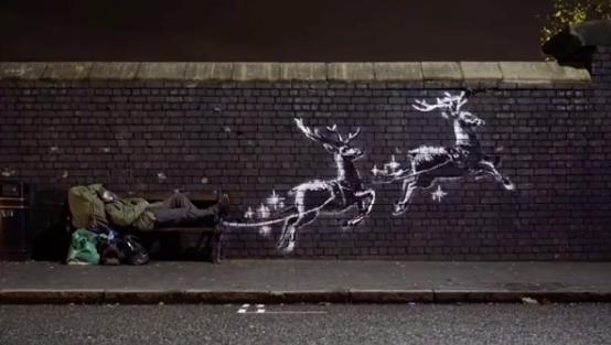 Angleterre: nouvelle fresque de Banksy à Birmingham