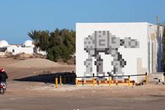 Invader rend hommage à «Star Wars» à Djerba