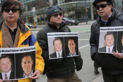 La Chine a remis les dossiers de Kovrig et Spavor à des procureurs