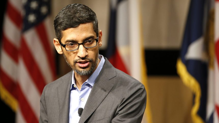 Google: Sundar Pichai prend seul les rênes d'Alphabet