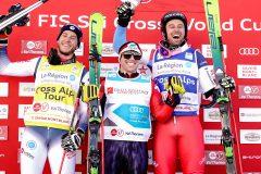 Kevin Drury remporte la course et le Canada récolte trois médailes en ski cross