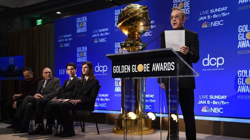 Golden Globes: liste complète des nominations en cinéma