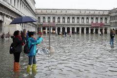 Inondations: le tourisme vénitien frappé de plein fouet