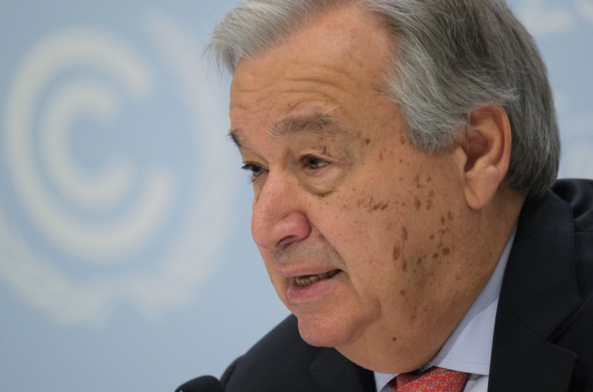 Crise climatique: l'Humanité doit arrêter de faire la «guerre» à la planète