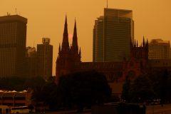 Australie: la fumée des incendies asphyxient l'est du pays