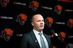 Rick Campbell est le nouvel entraîneur-chef des Lions de la C.-B.