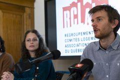 Le RCLALQ appelle Québec à «faire cesser» les expulsions de locataires