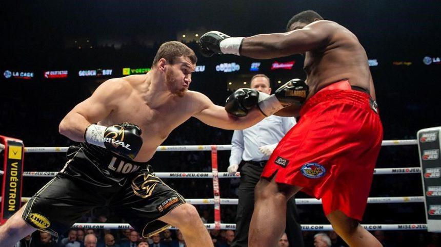 Arslanbek Makhmudov boxing