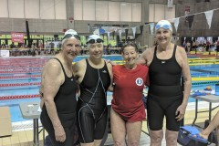 Nageuses honorées