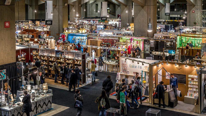 Magasiner l'artisanat québécois au Salon des métiers d'art