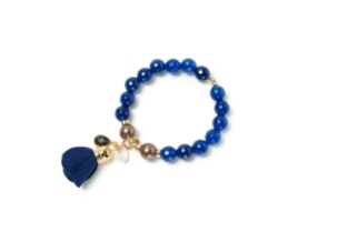 Bracelet en pierres fines BEBLUE 160$