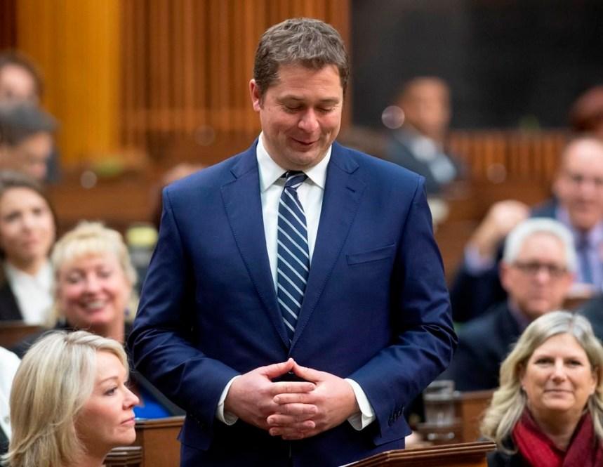 Andrew Scheer démissionne de son poste de chef du Parti conservateur