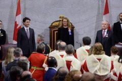 Dans son discours du Trône, le gouvernement Trudeau promet d'écouter