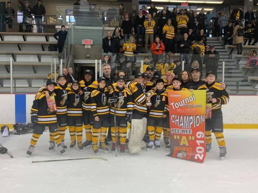 Les Braves du nord de Montréal remportent leurs premiers championnats