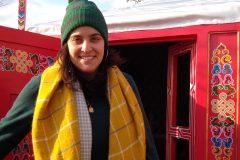 La femme derrière le Village de Noël de Montréal