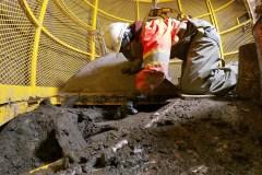Découvertes archéologiques au cimetière des Irlandais