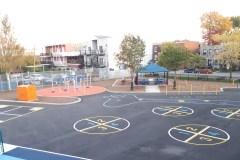 Nouvelle cour revampée à l'école Marie-de-l'Incarnation