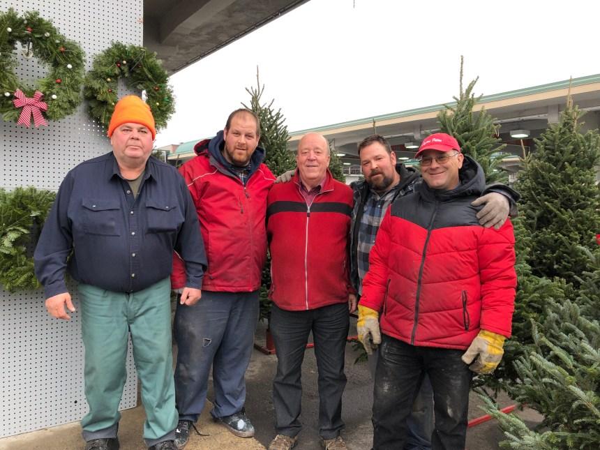 Sapins de Noël : une histoire de famille au marché Jean-Talon