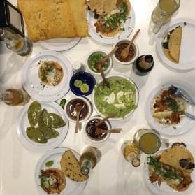 Tacos, guacamole, quesadillas et micheladas