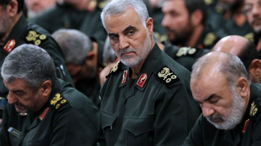 Le général iranien Qassem Soleimani, mort le 3 janvier dans un raid américain en Irak.