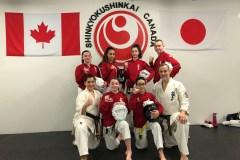 Six karatékas d'Ahuntsic représentent le Canada en Belgique