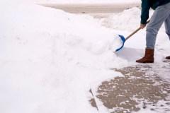 Brigade neige pour les plus vulnérables