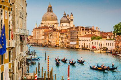 Une vue de Venise, datant du XIVe siècle, découverte