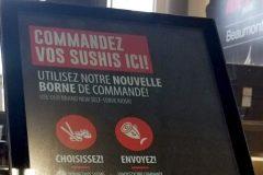 Des sushis sur mesure au supermarché