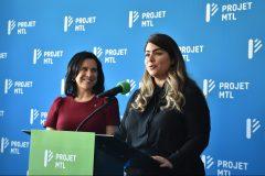 Projet Montréal présente sa candidate pour Saint-Léonard