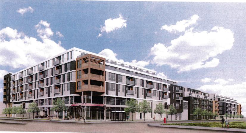 Nouvelle mouture du projet immobilier de la cour de voirie Honoré-Beaugrand