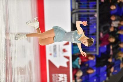 Championnats nationaux de patinage artistique : Béatrice Lavoie-Léonard vise les dix premières places