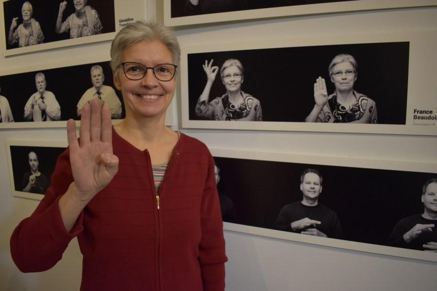 Exposition photo sur la communauté sourde