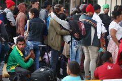 Des centaines de migrants arrêtés au Mexique