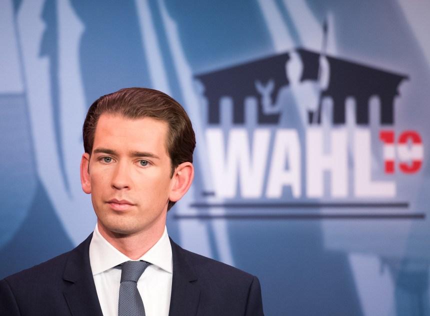 Autriche : accord de gouvernement entre la droite de Sebastian Kurz et les Verts