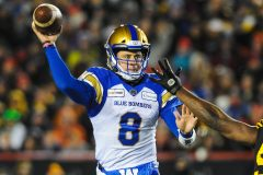 Les Blue Bombers accordent une prolongation de contrat au quart Zach Collaros