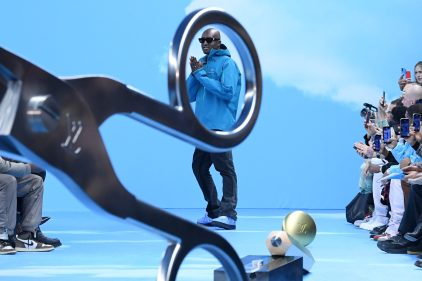 Collaboration entre Louis Vuitton et la NBA