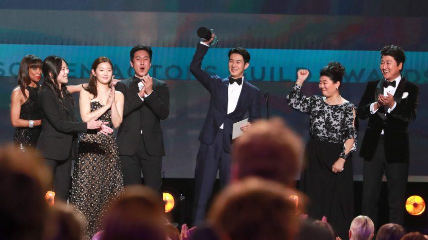 «Parasite» vainqueur des SAG Awards à trois semaines des Oscars